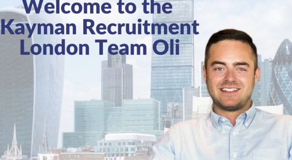 Welcome to Kayman Recruitment Oli Woolf