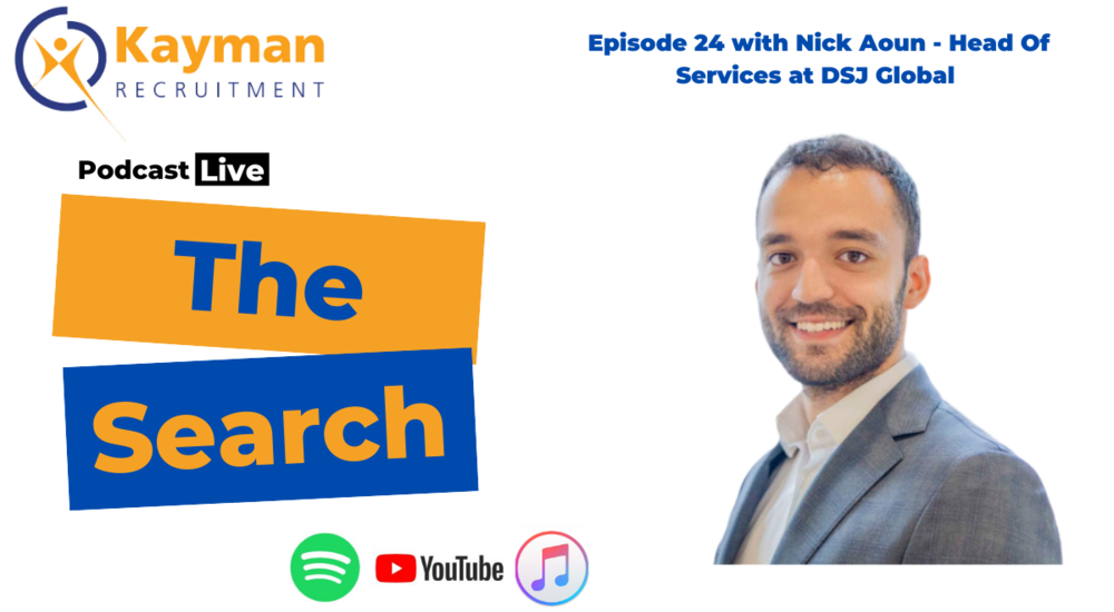 'The Search' Episode 24 with Nick Aoun