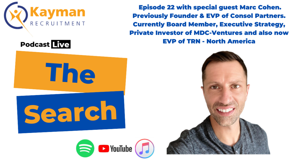 Episode 22 of 'The Search' with Marc Cohen