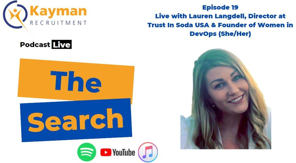 'The Search' Episode 19 with Lauren Langdell